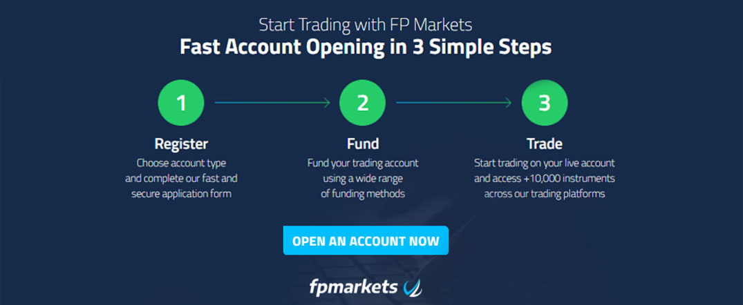 Start Trading with FP Markets Fast Account Opening in 3 Simple Steps